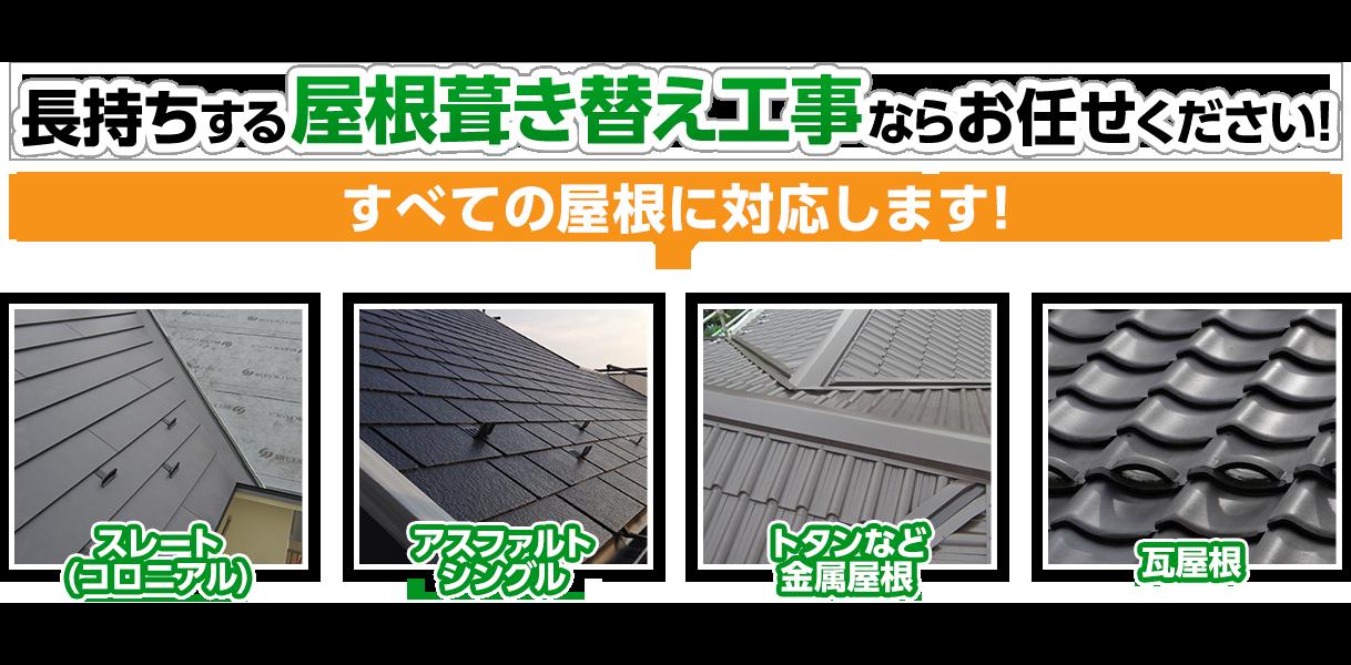 屋根カバー工事ならお任せください!茨城県の地域密着店!